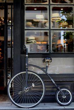 Bone crusher bike and a hat shop