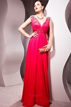 New Arrival Low-V Neck Sleeveless Party Dress