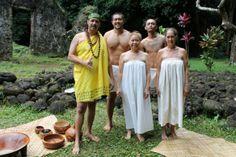 Traditional Hawaiian ceremony
