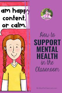 Mental health in the classroom is a growing concern. Support your students' mental health needs with the tips in this blog post and grab a FREE check-in station and printable. Middle School Classroom, Primary Classroom, Elementary Teacher, Behavior Rewards, Behavior Management, Character Education Lessons, 21st Century Classroom, Health Unit, Mental Health Problems