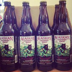 Alaskan Raspberry Wheat Beer. Love this beer.
