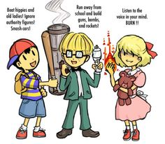 Earthbound great role models xD