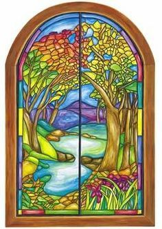 """""""Stained Glass"""" out of CRAYONS and Wax paper. MUST try!"""
