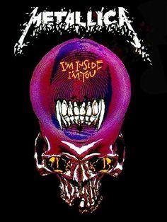 Metallica is in my head Metallica Albums, Metallica Art, Metallica T Shirt, Woodstock, Rock Bands, Instrumental, Hard Rock, Band On The Run, Band Posters