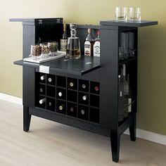 San Francisco: Crate and Barrel bar cabinet - Parker Spirits $350 - http://furnishlyst.com/listings/1109191