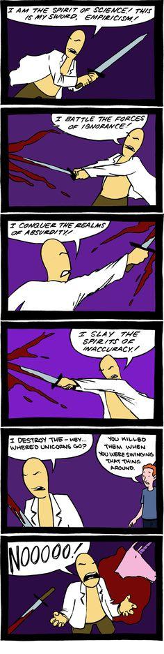 Empiricism kills unicorns