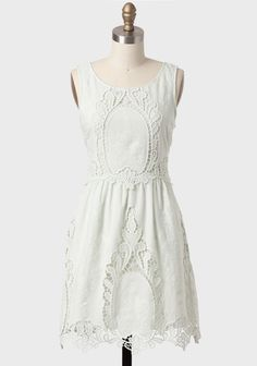 Blooming Lace Dress In Mint By Black Sheep at #Ruche @Ruche