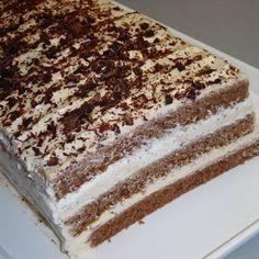 Receptek és egészség tippek: Tejszínes-mascarponés-csokis mokkatorta