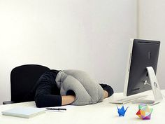 Nap at your desk with the Ostrich Pillow
