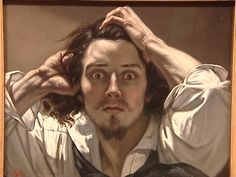 Gustave Courbet. autoportrait