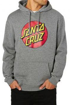 Santa Cruz Hoodies - Santa Cruz Classic Dot Hoody - Grey #modasto #giyim #erkek https://modasto.com/santa-cruz/erkek/br34426ct59