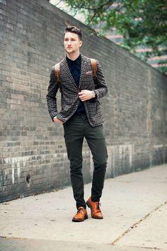 STREET STYLE STARS   The plaid jacket   One Dapper Street: Patternized