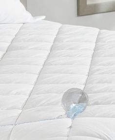 Sure Fit Durasoft Waterproof Full Mattress Pad - White