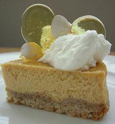 Creamy Pumpkin Cheesecake with Ginger-Pecan Crust
