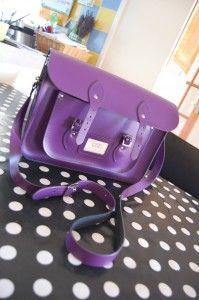 The Leather Satchel Co Purple - MINE - all mine.