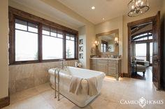 Home Office With A Sliding Wood Door Using Reclaimed Woodutah Adorable Utah Bathroom Remodel Inspiration Design