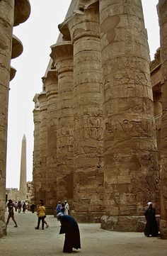 Giants - Karnak, Luxor   - Explore the World with Travel Nerd Nici, one Country at a Time. http://TravelNerdNici.com