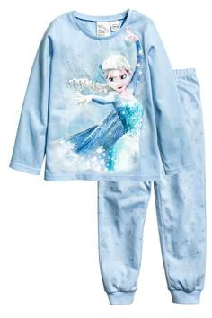 Pyjamas in soft cotton jersey. Frozen Outfits, Frozen Clothes, Frozen Bedroom, Toddler Christmas Gifts, Frozen Kids, Toddler Girl Gifts, Unicorn Fashion, Disney Princess Dresses, Girls Pajamas