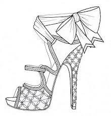 Resultado de imagem para drawings of shoes
