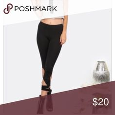 🌹Criss Cross Leggings🌹 Dress it up or down with sneakers. Cute and Sexy. Pants Leggings
