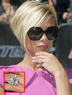 This is my favourite of Victoria Beckham's engagement rings