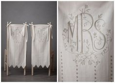 Mr. & Mrs. Chair Covers For Wedding