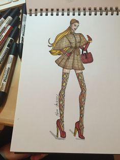 #fashiondesign #fashionillustrator #draw