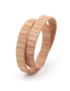 TWIN CILIEGIO AMERICANO #bracelet #fashion #woodbracelet #wood #design #madeinitaly
