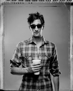 Adrien Brody by Patrick Hoelck