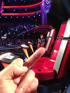 When he showed Adam Levine his true feelings. | 18 Times Blake Shelton Made Us Laugh Out Loud