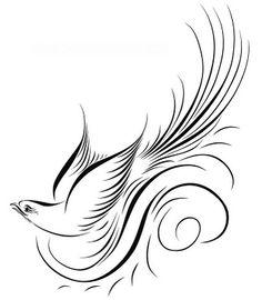 Spencerian Bird | Bells, Bouquets, and Galveston Bay: December 2009
