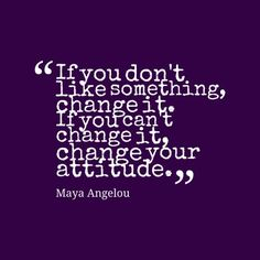 On the power of attitude