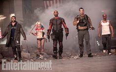 CIA☆こちら映画中央情報局です: Suicide Squad : 「バットマン V スーパーマン」後の世界で、対エイリアンを目的に結成された悪役特攻部隊 VS.ジョーカーのたくらみを描いたコミックヒーロー映画の超話題作「スーサイド・スクワッド」が、新しい写真をリリース!! - 映画諜報部員のレアな映画情報・映画批評のブログです