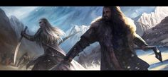 One King to Another by JustaBlink Thranduil and Thorin. Now where the hell was this in the movie