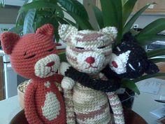 Amineko Crocheted Cat pattern by Nekoyama
