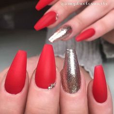 47 Best Red Passion Nail Designs Images On Pinterest Acrylic Nail