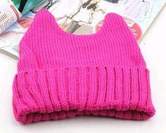 Cat ears Cat Ears Headband, Knitting Wool, Crochet Top, Korean, Warm, Cat Stuff, Stylish, Winter, Sweaters