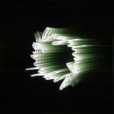 Brigitte Kowanz | Lighting | Artwork in Metal, glass, mirrors, neon tubes | From the Targetti Light Art Collection (2007)