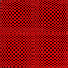 OpArtSquareRed | Flickr - Photo Sharing!