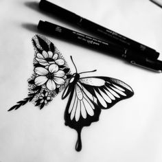 Black tattoos, new tattoos, cover up tattoos, body art tattoos, sunflower t Tattoo Sketches, Tattoo Drawings, Body Art Tattoos, New Tattoos, Small Tattoos, Sleeve Tattoos, Stomach Tattoos, Celtic Tattoos, Girl Tattoos