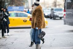 Charlotte Groeneveld | THEFASHIONGUITAR is wearing Zelma Faux Fur from D.EFECT AW14