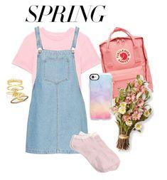"""Spring Dress Contest ♥️"" by rooransom ❤ liked on Polyvore featuring J.Crew, Fjällräven, Casetify, Sydney Evan, BillyTheTree and springdresses"