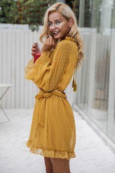 $ - Nice Simplee Lace up backless mesh dress women Elegant stringy selvedge sash mini dress Fashion long flare sleeve dresses vestidos - Buy it Now!