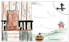 WEDNESDAY'S WEATHER: Mostly sunny skies, high of 44. Drawing by Javen Hughes, 12, St. Regis, Montana