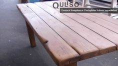 Pamplona, Outdoor Furniture, Outdoor Decor, Home Decor, House Styles, Old Wood, Cottage Chic, Dinner Table, Essen