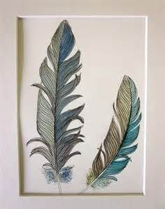 feathers drawn - Yahoo Image Search results
