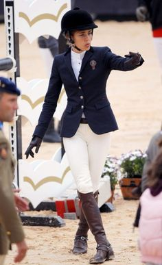 Gucci creates equestrian uniforms for the likes of Edwina Alexander (an Olympian show-jumper) and Charlotte Casiraghi