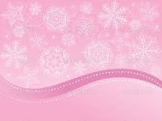 more pink snowflakes