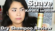 Suave Professionals Keratin Infusion Dry Shampoo Review & Demo | Influenster #DryShampooAddict - YouTube