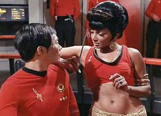 Mirror Universe Sulu and Uhura
